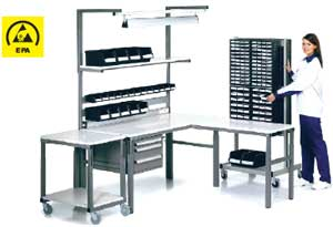 Adjustable Workbenches TPH/SAP